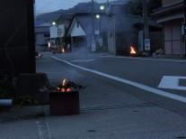 上川内の迎え火・送り火