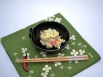 浪江町津島の白菜の白和え130120