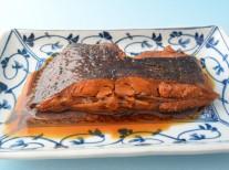 葛尾村の煮魚
