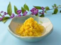 葛尾村の食用菊の甘酢